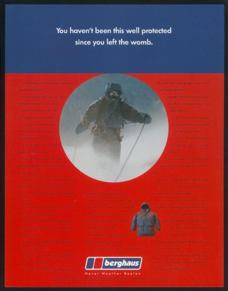 Berghaus Campaign Ad 2