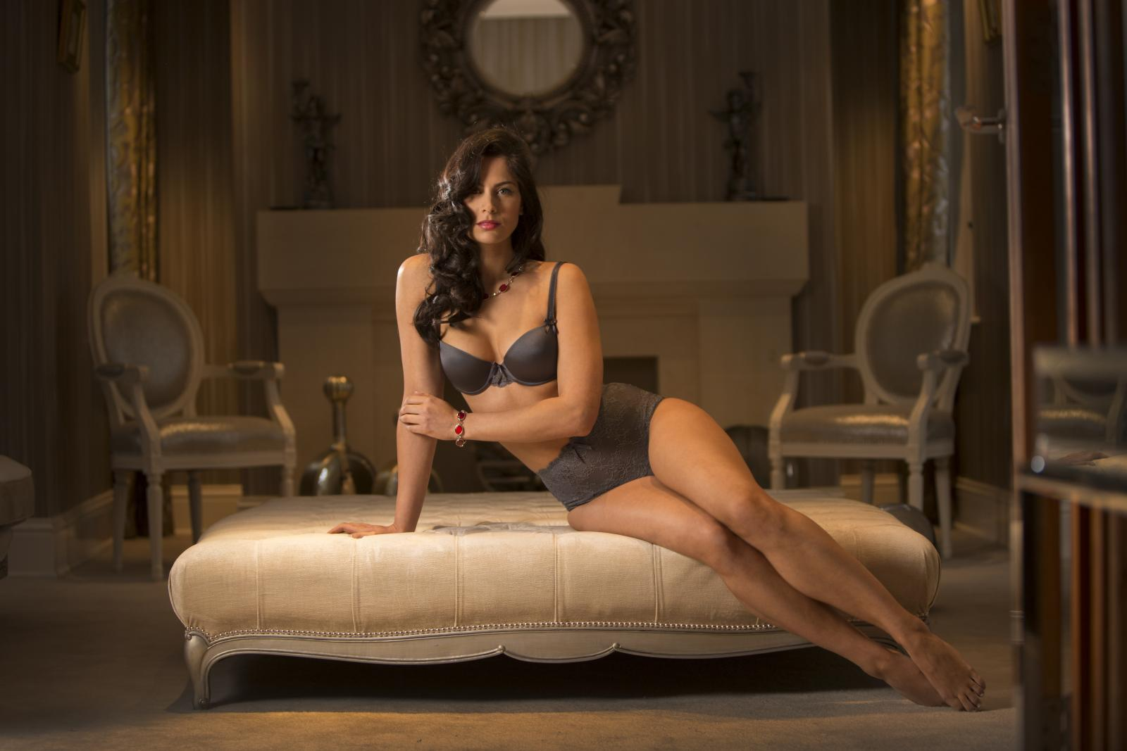 Holly in Pour Moi Lingerie