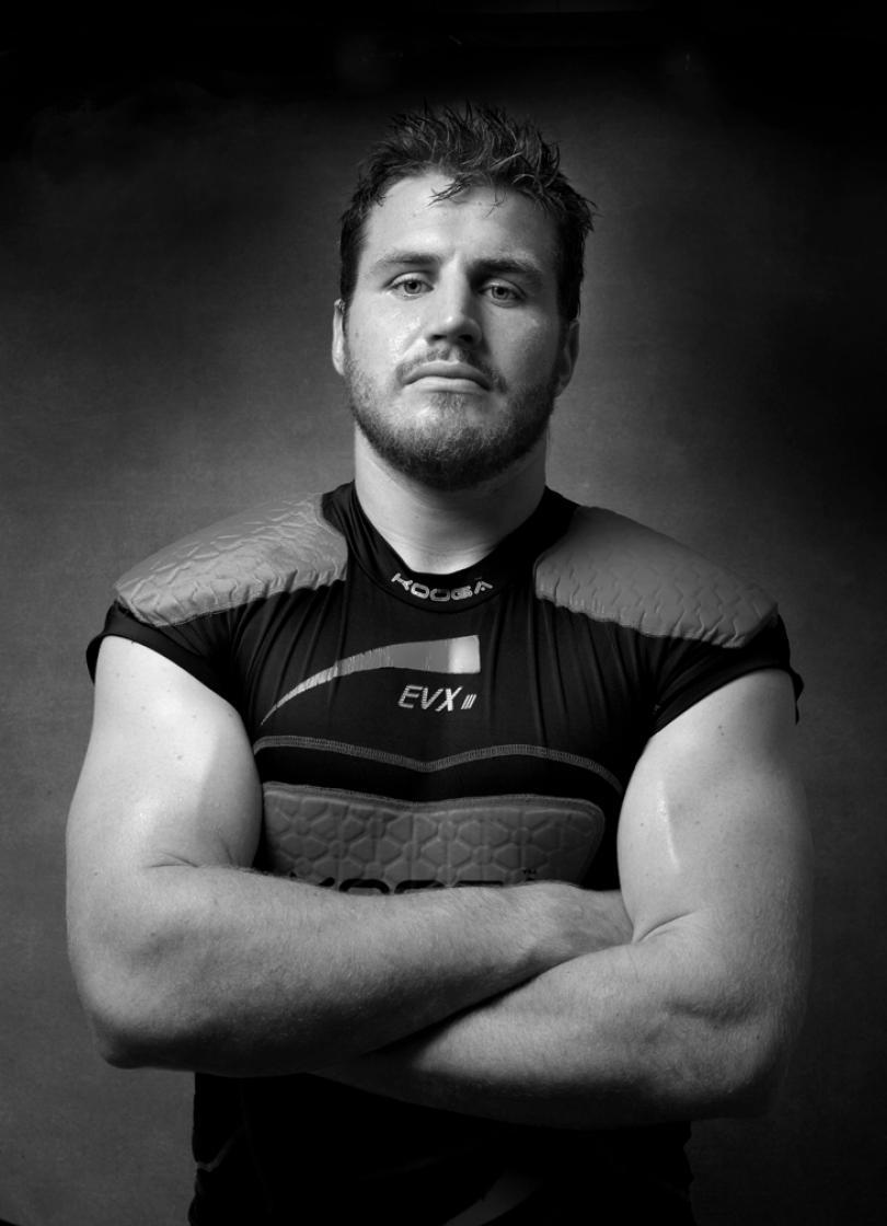 Portrait of Ben Morgan Koo Ga Rugby