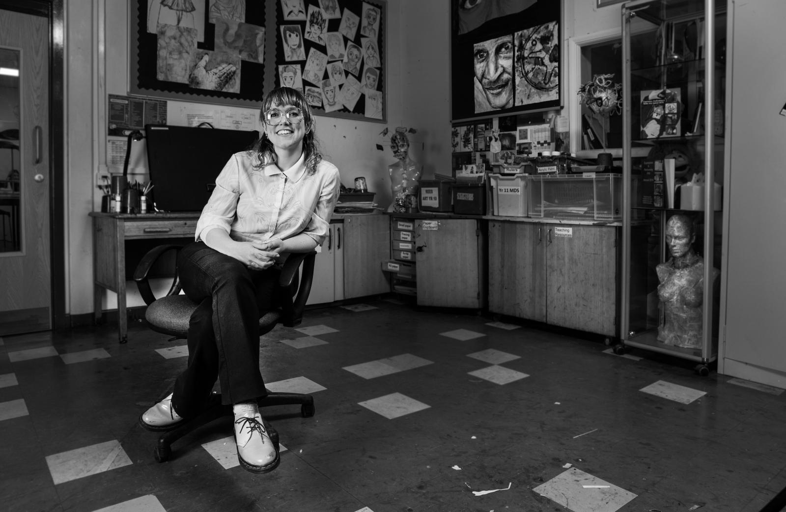 Portrait of an Art Teacher 2 copy