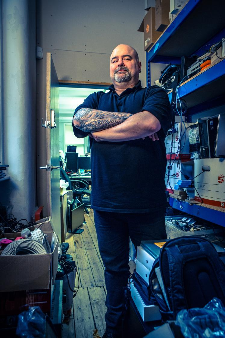 Portrait of an IT man copy